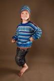 πουλόβερ μόδας παιδιών στοκ εικόνες