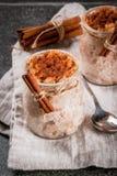 Πουτίγκα ρυζιού Arroz con leche Στοκ Φωτογραφίες