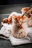 Πουτίγκα ρυζιού Arroz con leche Στοκ Εικόνα