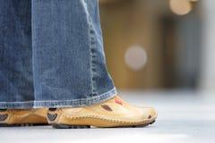 που έγιναν οι μπότες περπα Στοκ φωτογραφία με δικαίωμα ελεύθερης χρήσης