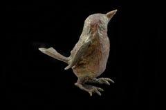 πουλί διακοσμήσεων πεπιεσμένου χαρτιού με ένα σχέδιο στοκ εικόνες