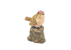 πουλί κεραμικό Στοκ εικόνες με δικαίωμα ελεύθερης χρήσης