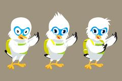 Πουλί μασκότ Στοκ εικόνες με δικαίωμα ελεύθερης χρήσης