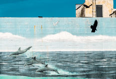 Πουλί στην κίνηση Στοκ φωτογραφίες με δικαίωμα ελεύθερης χρήσης