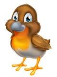 Πουλί της Robin κινούμενων σχεδίων Στοκ Φωτογραφία
