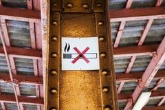 Που δεν επιτρέπεται καπνός Στοκ φωτογραφία με δικαίωμα ελεύθερης χρήσης
