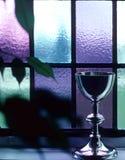 που λεκιάζουν grail γυαλι&omi Στοκ εικόνες με δικαίωμα ελεύθερης χρήσης