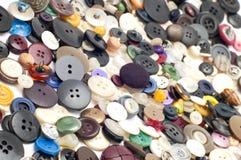 που χρωματίζεται το κουμπί ράβει Στοκ εικόνα με δικαίωμα ελεύθερης χρήσης