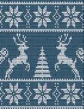 Πουλόβερ με τα deers Στοκ Εικόνες