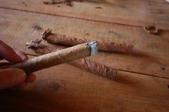 Πούρα, καπνός, Vinales στοκ φωτογραφία με δικαίωμα ελεύθερης χρήσης