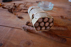 Πούρα, καπνός, Vinales Στοκ Εικόνες