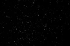 Πολλά καμμένος ζωηρόχρωμα αστέρια στον ουρανό τη νύχτα Στοκ φωτογραφίες με δικαίωμα ελεύθερης χρήσης