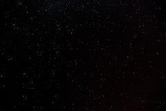 Πολλά καμμένος ζωηρόχρωμα αστέρια στον ουρανό Στοκ Φωτογραφία