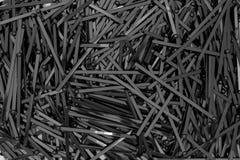 Πολλά μαύρα ραβδιά κοκτέιλ Στοκ φωτογραφία με δικαίωμα ελεύθερης χρήσης