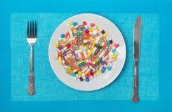 Πολλά φάρμακα στοκ φωτογραφίες με δικαίωμα ελεύθερης χρήσης