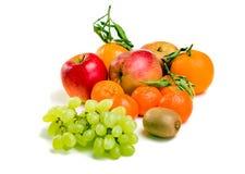 Πολλά φρούτα σε ένα πιάτο Στοκ εικόνα με δικαίωμα ελεύθερης χρήσης