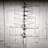 Πολλές αρθρώσεις στην πόρτα γκαράζ Στοκ Φωτογραφίες