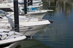 Πολλές βάρκες στη θάλασσα Στοκ εικόνα με δικαίωμα ελεύθερης χρήσης