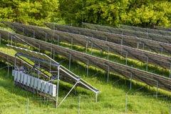 πολλές επιτροπές ηλιακέ&sigm Στοκ φωτογραφία με δικαίωμα ελεύθερης χρήσης