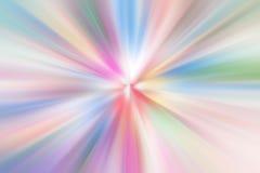 Πολλές ζωηρόχρωμες ακτίνες Στοκ Εικόνες