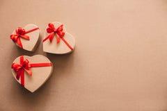 Πολλές καρδιές δώρων Αγάπη Στοκ Εικόνες