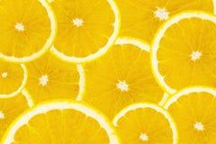 Πολλές φέτες των πορτοκαλιών φρούτων Στοκ εικόνες με δικαίωμα ελεύθερης χρήσης