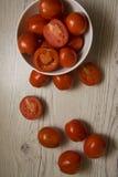 Πολλές juicy ντομάτες Στοκ Εικόνες