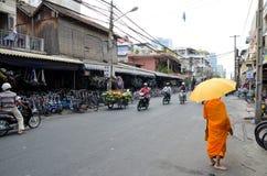 Ποδήλατα για την πώληση, Καμπότζη Στοκ Φωτογραφία