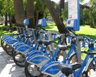 Ποδήλατα για το μίσθωμα Στοκ εικόνα με δικαίωμα ελεύθερης χρήσης