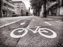 Ποδήλατα μόνο Στοκ Φωτογραφίες
