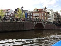 Ποδήλατα του Άμστερνταμ Στοκ φωτογραφία με δικαίωμα ελεύθερης χρήσης