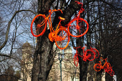 ποδήλατα Στοκ Εικόνα