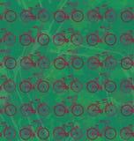 Ποδήλατα Seamles Στοκ Εικόνες