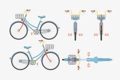 Ποδήλατο ένα 1 Στοκ Εικόνες