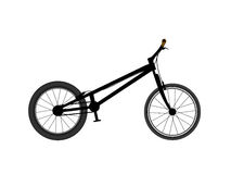 Ποδήλατο για τα τεχνάσματα και τα άλματα απεικόνιση αποθεμάτων