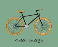 Ποδήλατο για τη γη διανυσματική απεικόνιση