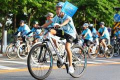 Ποδήλατο για Mom Στοκ Εικόνες