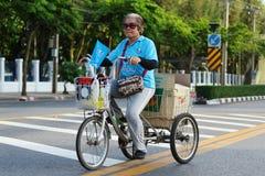 Ποδήλατο για Mom Στοκ Εικόνα