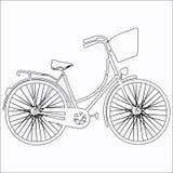 ποδήλατο Εικονίδιο ποδηλάτων Έννοια ανακύκλωσης Στοκ Εικόνες