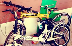 Ποδήλατο επιπλεόντων σωμάτων Στοκ φωτογραφία με δικαίωμα ελεύθερης χρήσης