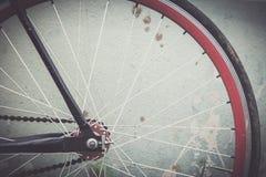 Ποδήλατο λεπτομερειών με τον εκλεκτής ποιότητας τόνο Στοκ εικόνα με δικαίωμα ελεύθερης χρήσης