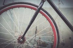 Ποδήλατο λεπτομερειών με τον εκλεκτής ποιότητας τόνο Στοκ φωτογραφία με δικαίωμα ελεύθερης χρήσης