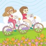 Ποδήλατο θερινού γύρου Στοκ φωτογραφίες με δικαίωμα ελεύθερης χρήσης