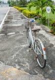 Ποδήλατο και φράκτης Στοκ Φωτογραφία