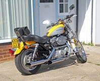 Ποδήλατο μοτοσικλετών του Harley davidson Στοκ Φωτογραφία