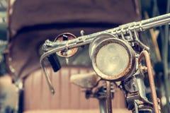 Ποδήλατο μπροστινός-ελαφρύ του τρίκυκλου ταξί ποδηλάτων Στοκ Φωτογραφίες