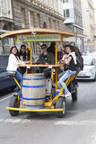 Ποδήλατο μπύρας Στοκ Εικόνες