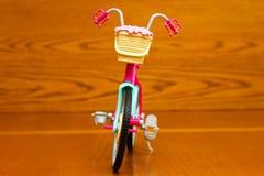 Ποδήλατο παιχνιδιών Μπροστινή όψη Στοκ φωτογραφίες με δικαίωμα ελεύθερης χρήσης