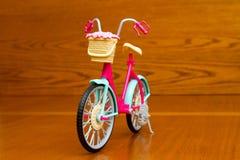 Ποδήλατο παιχνιδιών Μπροστινή όψη Στοκ φωτογραφία με δικαίωμα ελεύθερης χρήσης