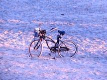 Ποδήλατο παραλιών της Dawn Στοκ φωτογραφία με δικαίωμα ελεύθερης χρήσης